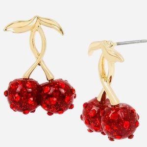 Cherry Earrings NWT